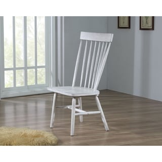 ACME Adriel Side Chair (Set of 2) in Antique White