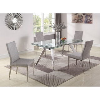 Somette Joana 5-piece Dining Set with Desiree Chairs
