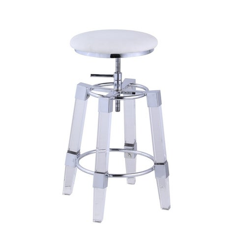Somette 8304 Adjustable Stool with Acrylic Seat