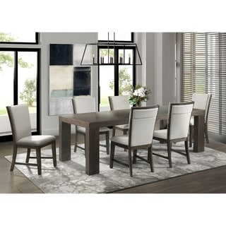 Picket House Furnishings Jasper 7PC Dining Set-Table & Six Upholstered Side Chairs