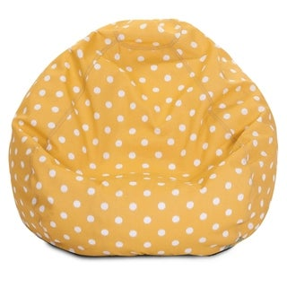 Majestic Home Goods Ikat dot Classic Bean Bag Chair Small/Large