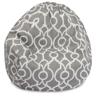 Majestic Home Goods Athens Classic Bean Bag Chair Small/Large