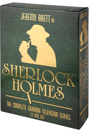Sherlock Holmes: The Complete Granada Series (DVD) - Thumbnail 0