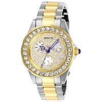 Invicta Women's Angel 28458 Stainless Steel, Gold Watch