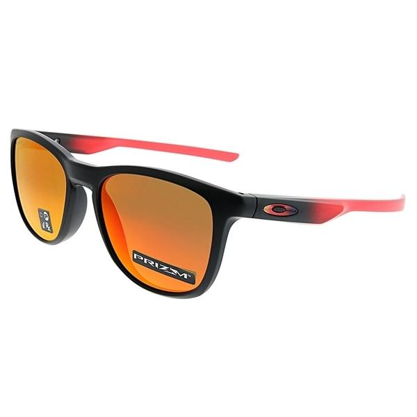 0494331d9c Oakley Square OO 9340 Trillbe X 10 Unisex Ruby Fade Frame Ruby Iridium Lens  Sunglasses
