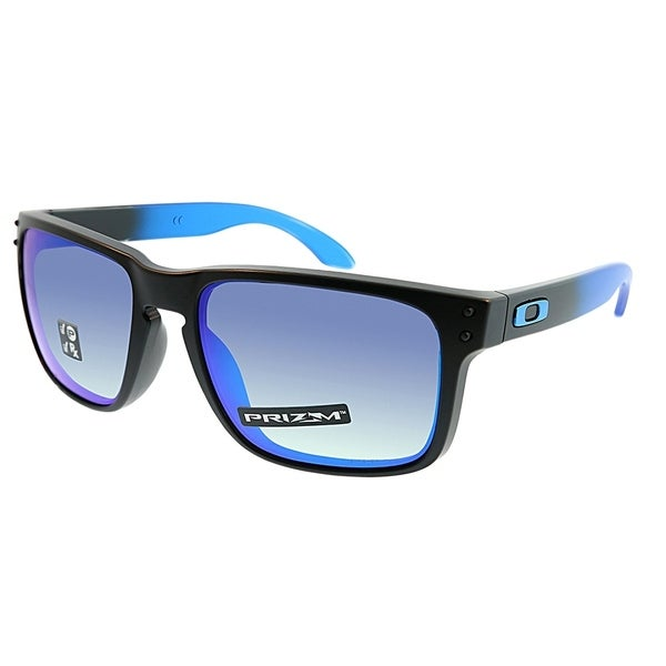 372d3922b0d Oakley Square OO 9102 Holbrook D2 Unisex Sapphire Fade Frame Prizm  Polarized Lens Sunglasses