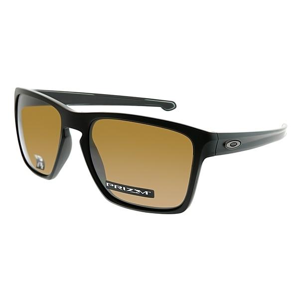 d2b2173ab3 Oakley Square OO 9341 Sliver Xl 16 Unisex Matte Black Frame Prizm Ruby Lens  Sunglasses