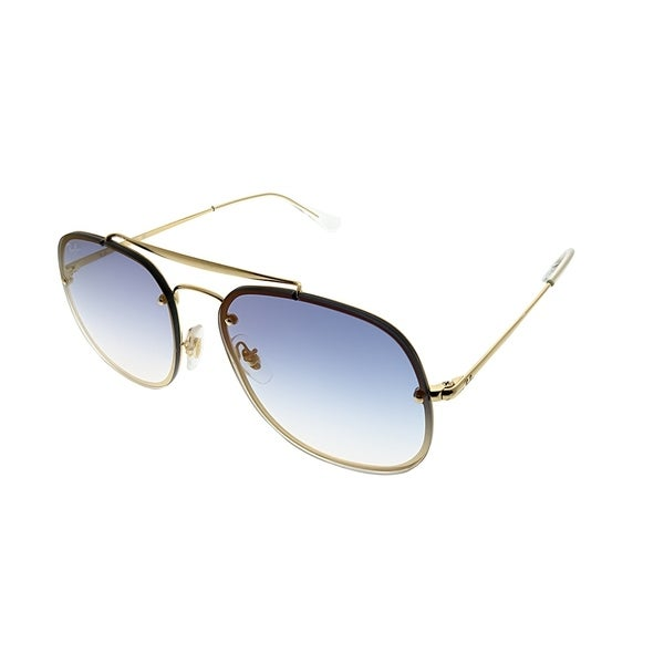 399c239c8b3 Ray-Ban Aviator RB 3583N Blaze General 001 X0 Unisex Gold Frame Blue  Gradient