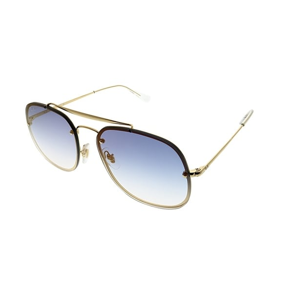 95c12d4035 Ray-Ban Aviator RB 3583N Blaze General 001 X0 Unisex Gold Frame Blue  Gradient