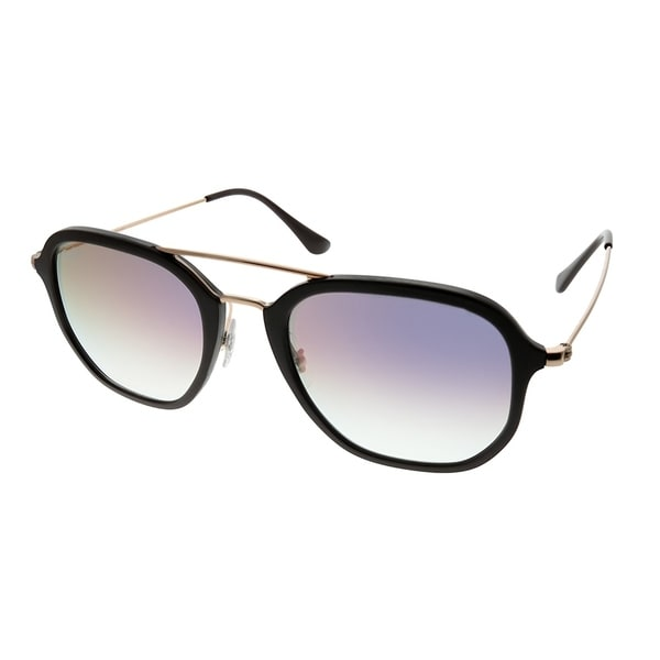 0856dd052ad Ray-Ban Square RB 4273 6335S5 Unisex Choccolate Frame Pink Gradient Mirror  Lens Sunglasses