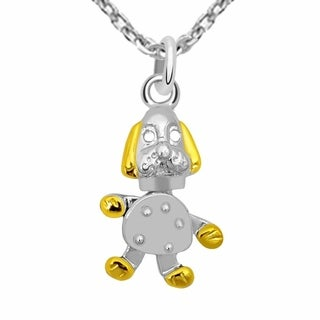 Essence Jewelry Two Tone Sterling Silver Necklace