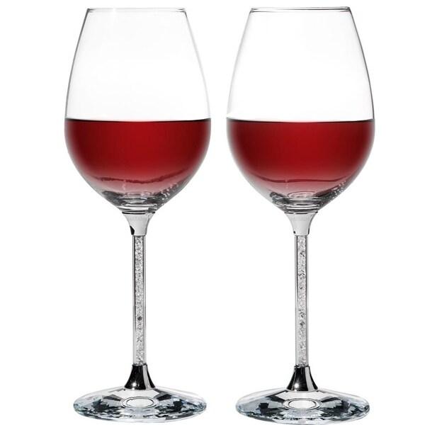 Crystal Wine Glasses Set 18.5 oz Lead-Free Crystal Sparkling Wine Wedding Glass. Opens flyout.