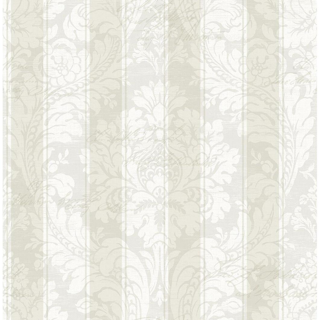 Shop Striped Damask Wallpaper Overstock 25580340