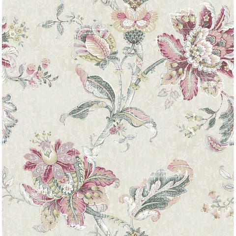 Blooming Jacobean Wallpaper - 20.5 in x 32 ft = 56 sq ft