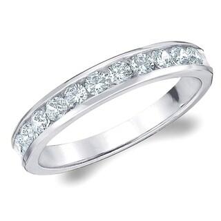 50 CT Classic Cultured Diamond Ring E F Color VS Clarity