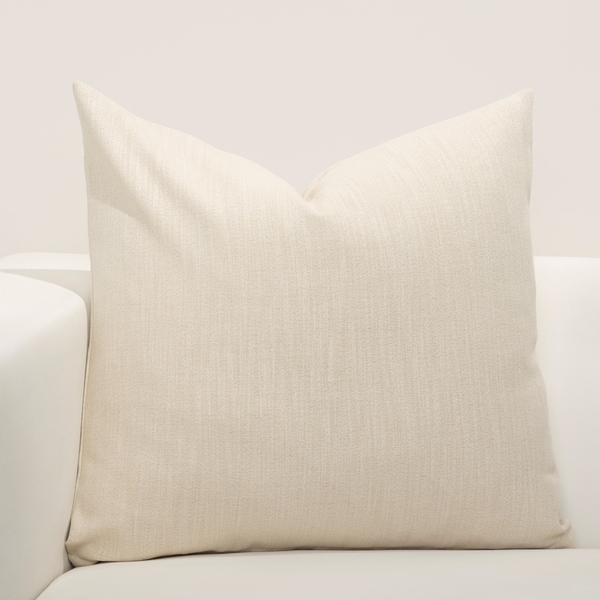 F Scott Fitzgerald Lumiere Cream Accent Throw Pillow