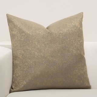 F Scott Fitzgerald Jazz Club Bronze Accent Throw Pillow