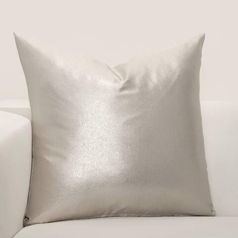 F Scott Fitzgerald Rendezous Silver Accent Throw Pillow