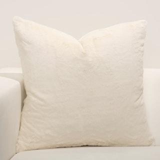 F Scott Fitzgerald Such A Beauty Faux-Fur Throw Pillow