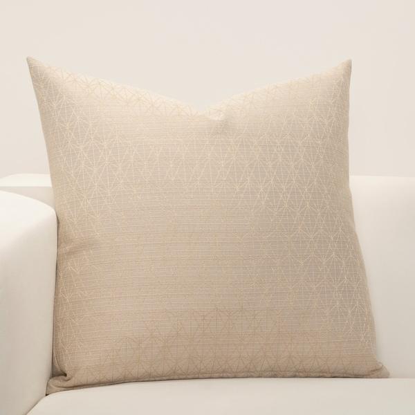 F Scott Fitzgerald Star Attraction Champagne Designer Throw Pillow