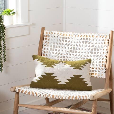 Safavieh Haleigh Decorative Pillow -Beige/Green