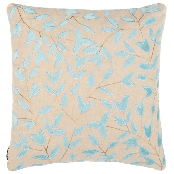 Safavieh Joslyn Decorative Pillow -Beige/Blue