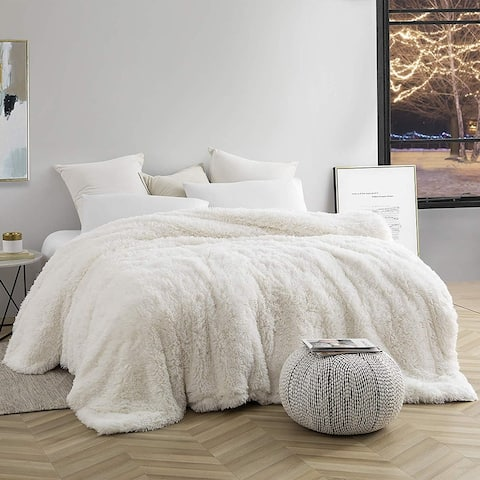 Are You Kidding Coma Inducer White Duvet Cover