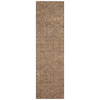 Handmade Herat Oriental Indo Hand-tufted Tibetan Wool Rug (2'7 x 9') - 2'7 x 9'
