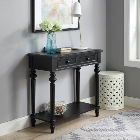 Copper Grove Kapan 2-drawer Console Table with Turned Legs