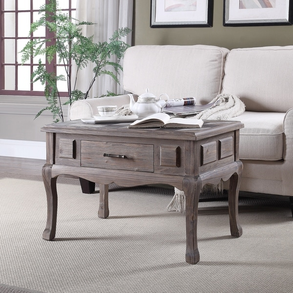 Glenmore Multi-color and Natural 1-drawer Accent Table