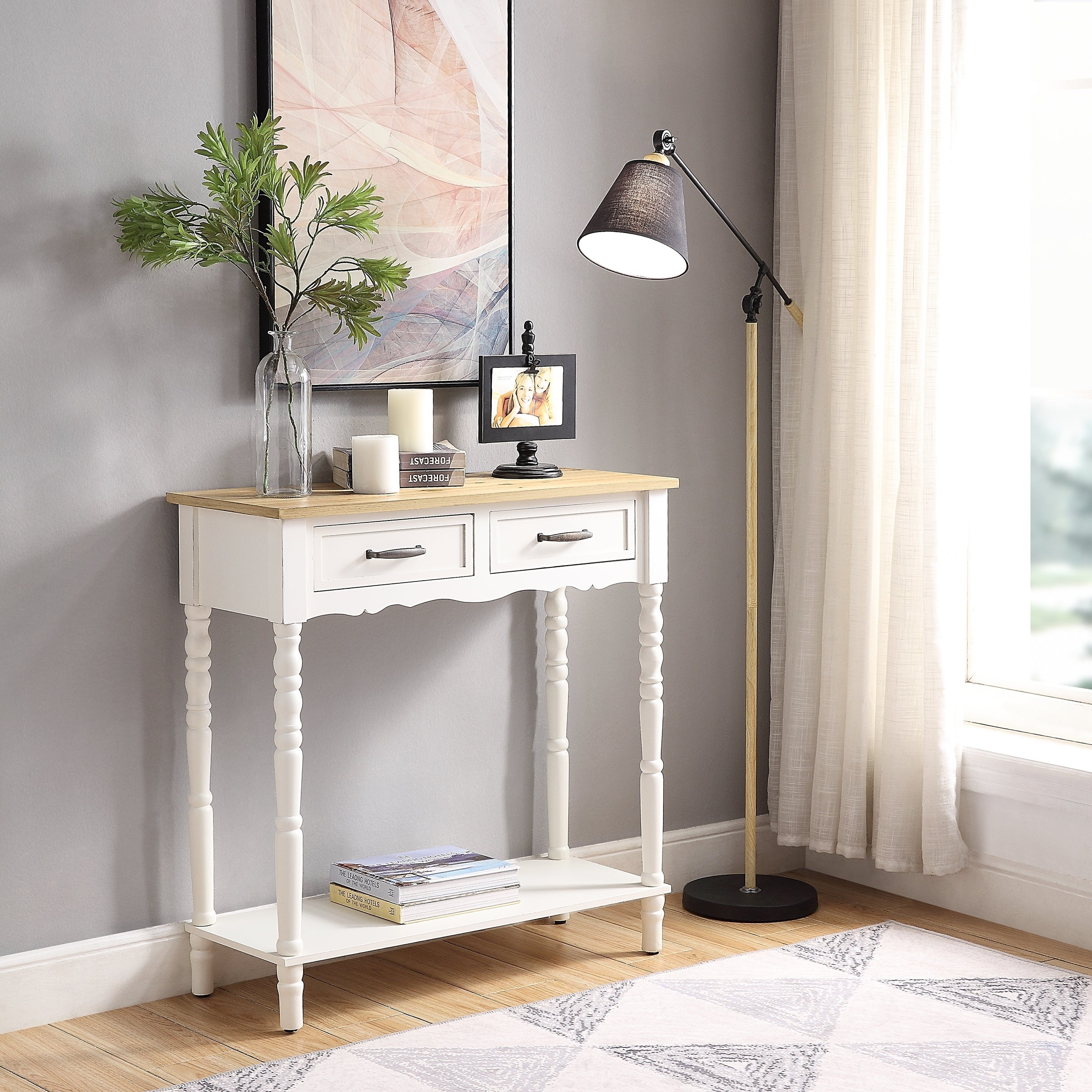 Buy White, Console Tables Online At Overstock.com | Our Best Living Room  Furniture Deals