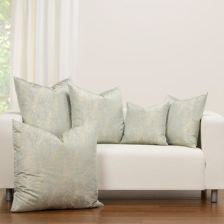 F Scott Fitzgerald Champagne Sky Designer Throw Pillow