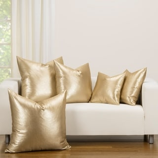 F Scott Fitzgerald Rendezvous Golden Accent Throw Pillow