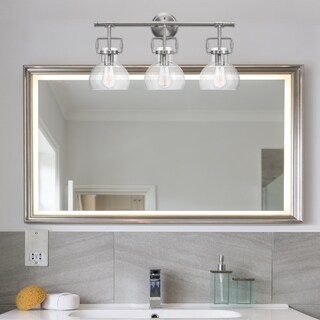 Walker 5-Piece Brushed Nickel All-In-One Bathroom Set