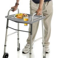 Universal Walker Tray with 2 Cup Holders