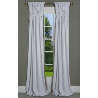 RT Dressings Chelsea Brook Lustre Cotton Metallic Shimmer Single Curtain Panel