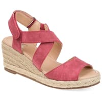 Journee Collection Women's Comfort Spencer Wedge