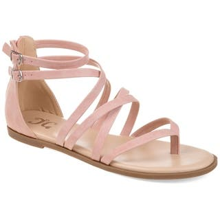 Journee Collection Women's Comfort Zailie Sandal