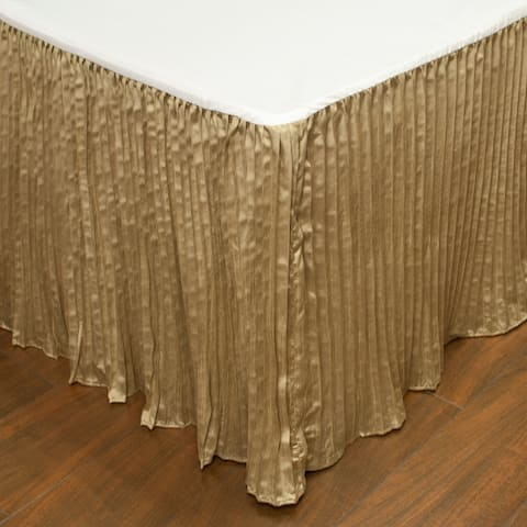 Austin Horn Classics Paradise Peacock Luxury Bed Skirt