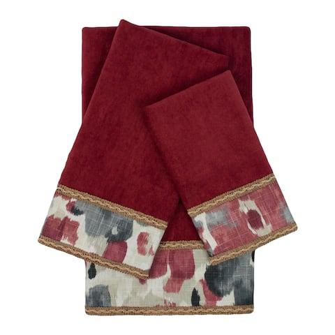 Austin Horn Classics Caprise 3-piece Embellished Towel Set