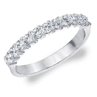.50CT Prong Set Cultured Diamond Ring Sparkling, E-F Color/VS Clarity