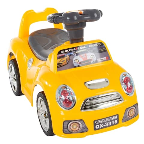 Ride On Car- Toy Car with Steering Wheel, Lights, Sounds, Music for Babies, Toddlers, Learning to Walk by Lil' Rider