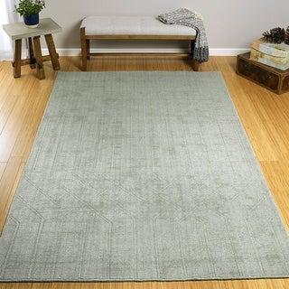 Hand-Loomed Polyester Moravec Rug