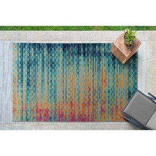The Curated Nomad Belden Multicolor Indoor/ Outdoor Rug