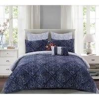 Kobe Cotton Comforter Set in Blue
