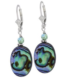 Charming Life Rainbow Paua Abalone Shell Earrings