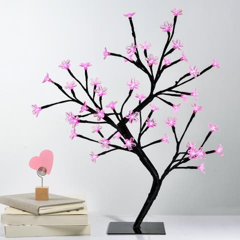 Fuji Labs 32 LED Pink Cherry Blossom Tree Light