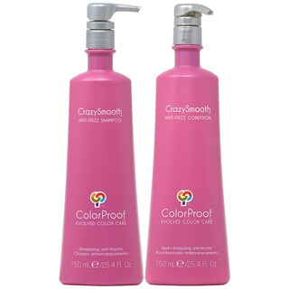 ColorProof CrazySmooth Anti-Frizz 25.4-ounce Shampoo & Conditioner Duo