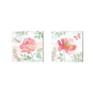 Beth Grove 'Watercolorful' Canvas Art (Set of 2)