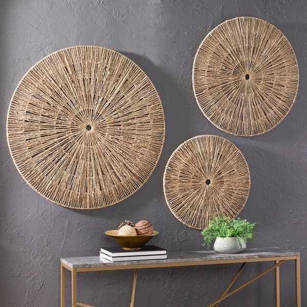 Shop The Curated Nomad Terraza Woven Seagrass Wall Decor
